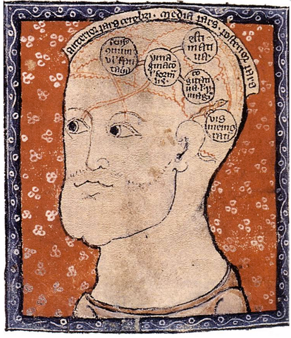 Medieval Brain Map