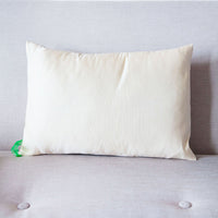 Cream Silk Throw Pillow