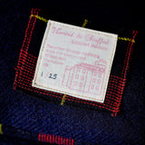 Navy Wool Cushion Numbered Limited Edition