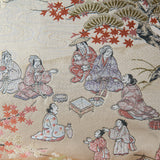 Geisha Pillow in Antique Silk