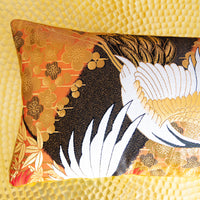 Gold Bolster Pillow detail