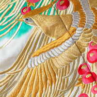 Gold Embroidery Golden Phoenix