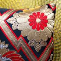 Gold Japanese pillows