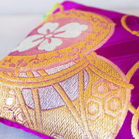 Gold Purple Designer Cushion