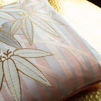 Gold silk bamboo pillow