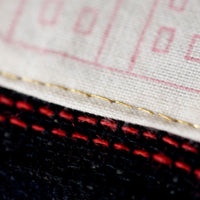 Detail Gold Stitch Label Cushion