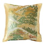 Mountain temples cushion japanese pillow