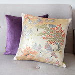 Oriental Silk Pillow