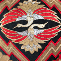 Phoenix Pillow Embroidery Obi Cushion