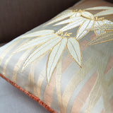 Vintage bamboo cushion