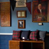 Vintage Gannex Wool Tartan Cushion Collection The Harold The Duke 60s 70s