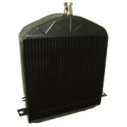 "1924-1927 Model T Radiator ""hi"" style - alternative shell neck hole placement"