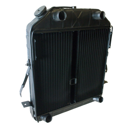 "1940-1941 (early) Ford Radiator Reproduction split core or ""donut"""