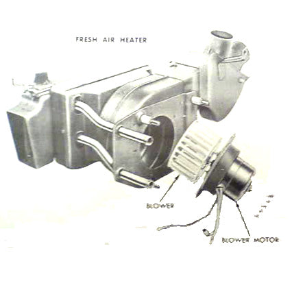 Ford 1953-1956 F-100 Fresh Air Heater Core