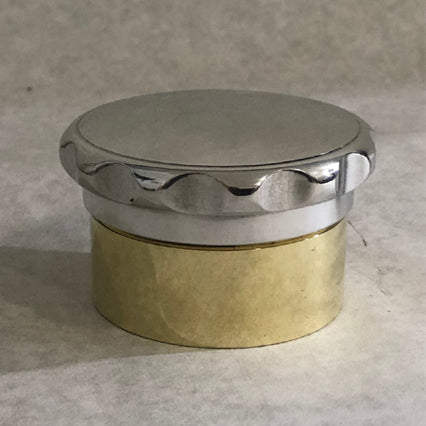 Brass neck and billet radiator cap sets