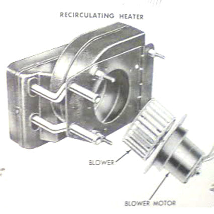 Ford 1953-1956 F-100 Recirculating Heater Core