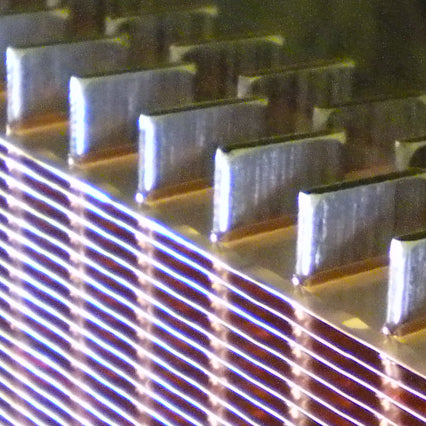 Flat Tube and Fin Radiator Cores