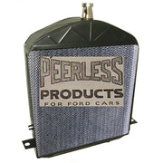 "1917-1923 Model T Radiator ""Low"" style with Peerless film core"