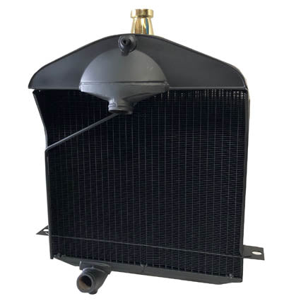 "1917-1923 1/2 Model T Radiator ""low"" style flat tube"