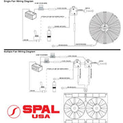SPAL 2 Wire Temperature Switch 185 Degrees