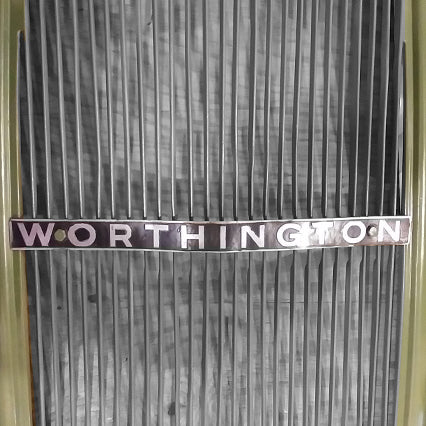 The Worthington Mower Co. Radiator Reproduction