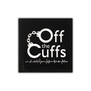 Off the Cuffs Sticker