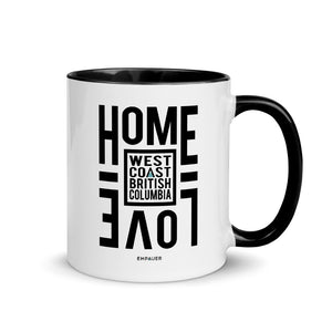 """Home Love, West Coast"" Coffee Mug"