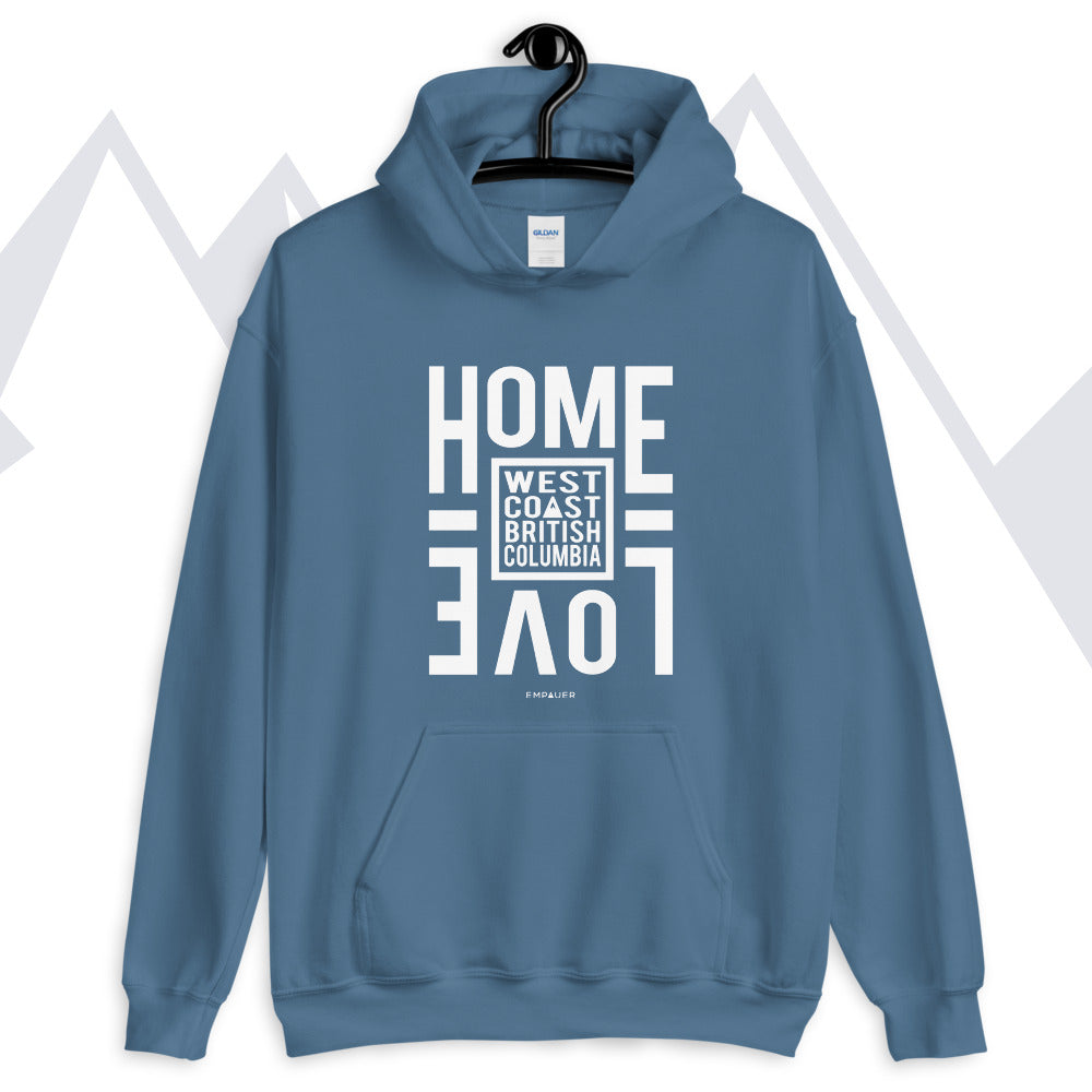 """Home Love, West Coast"" Hoodie"