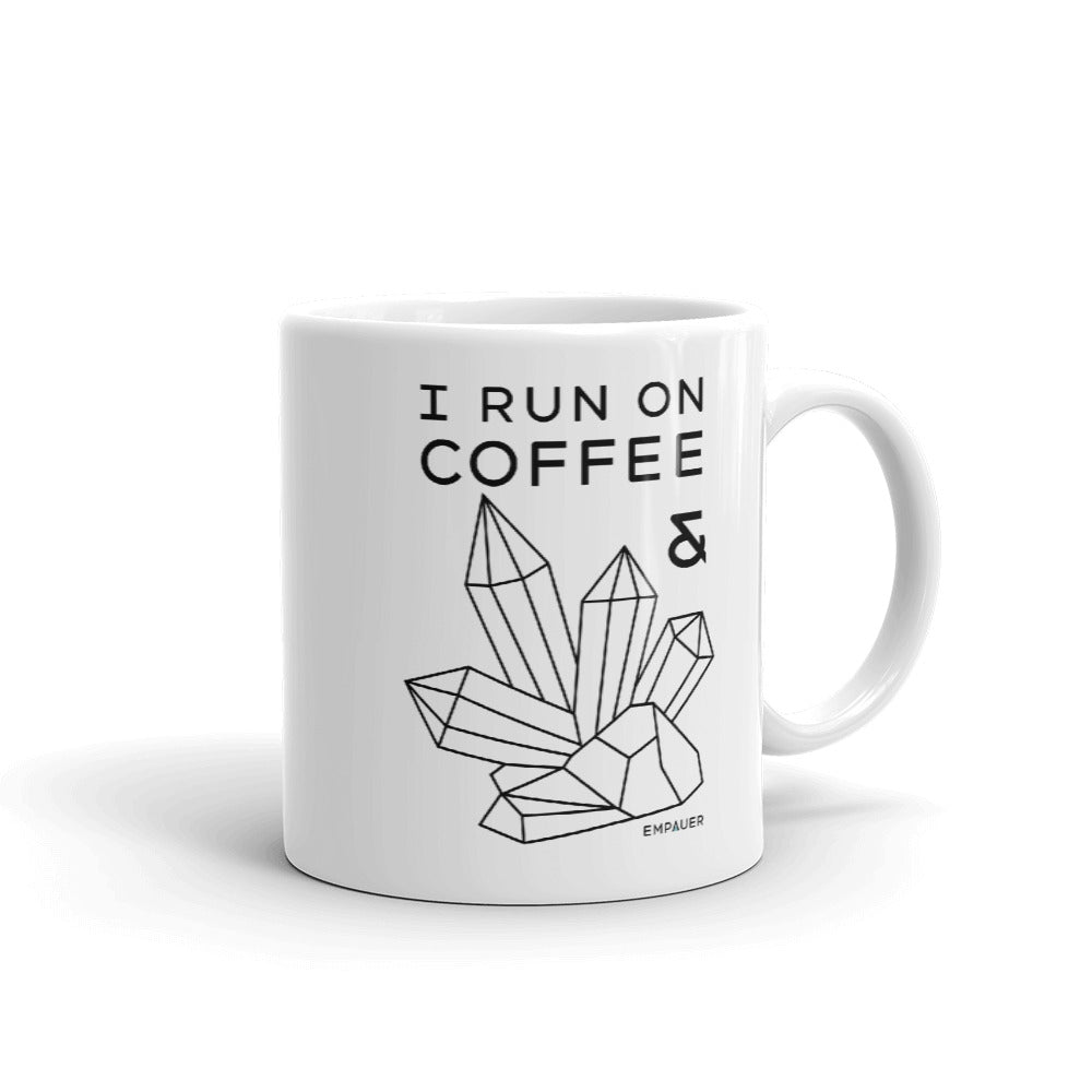 """Coffee and Crystals"" Coffee Mug"
