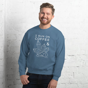 """Coffee and Crystals"" Sweatshirt"