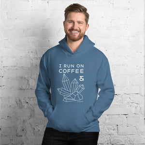 """Coffee and Crystals"" Hoodie"