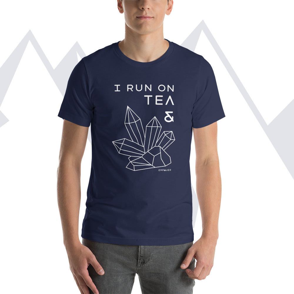 """Tea and Crystals"" T-shirt"