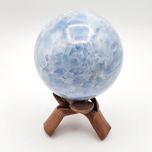 Large High Grade Blue Calcite Sphere