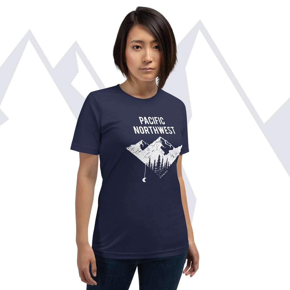 """Pacific Northwest"" T-shirt"
