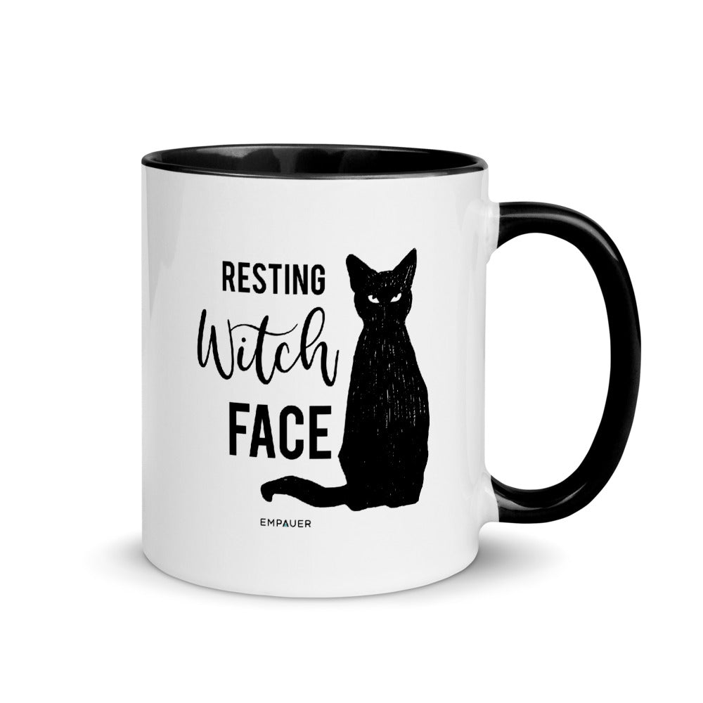 """Resting Witch Face"" Coffee Mug"