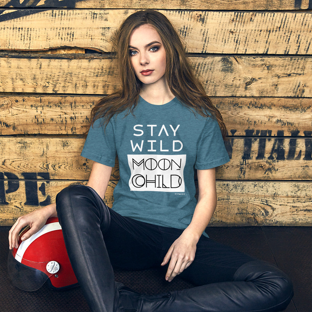 """Stay Wild Moon Child"" T-shirt"