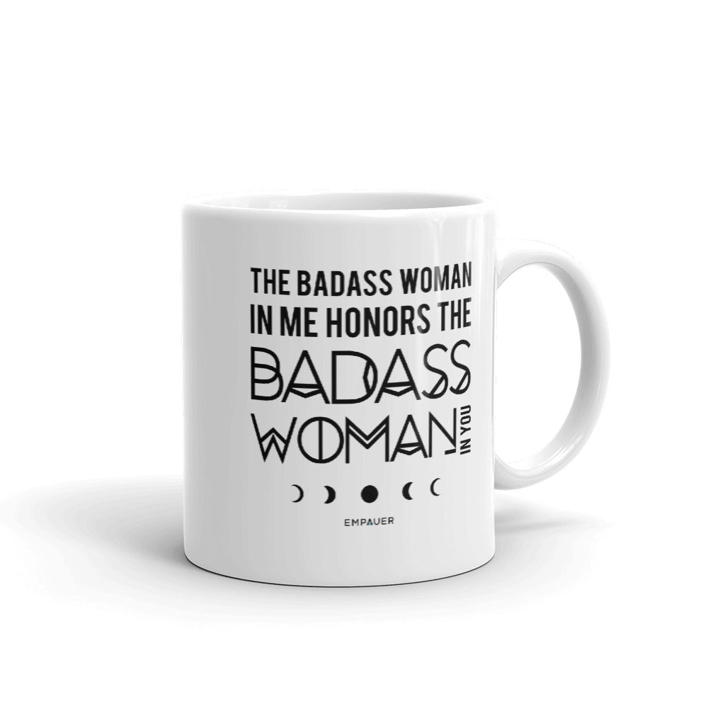 """Badass Woman"" Coffee Mug"