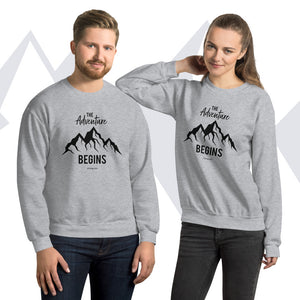 """The Adventure Begins"" Sweatshirt"