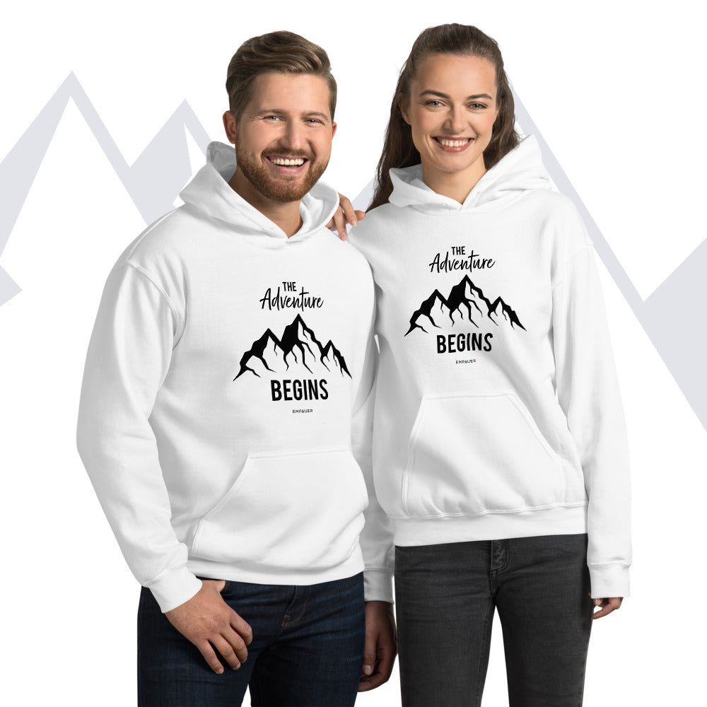 """The Adventure Begins"" Hoodie"