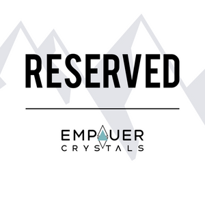 Reserved Crystal Order for @Adriana.urquilla