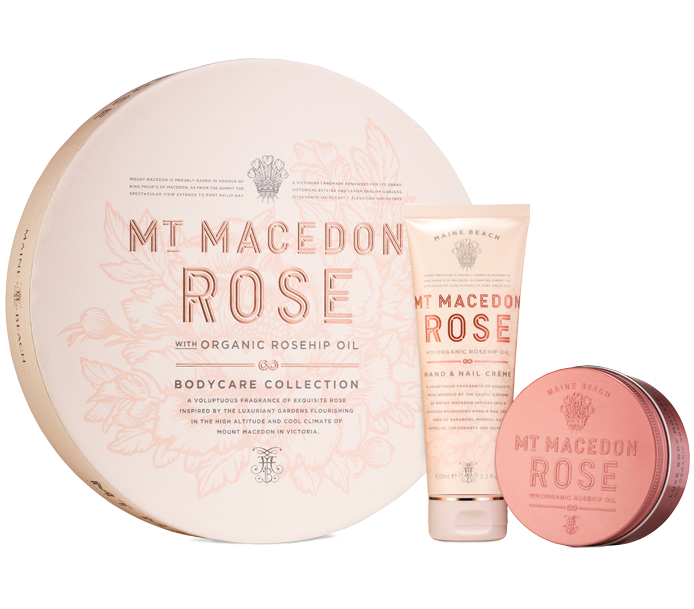 MT MACEDON ROSE BODYCARE COLLECTION