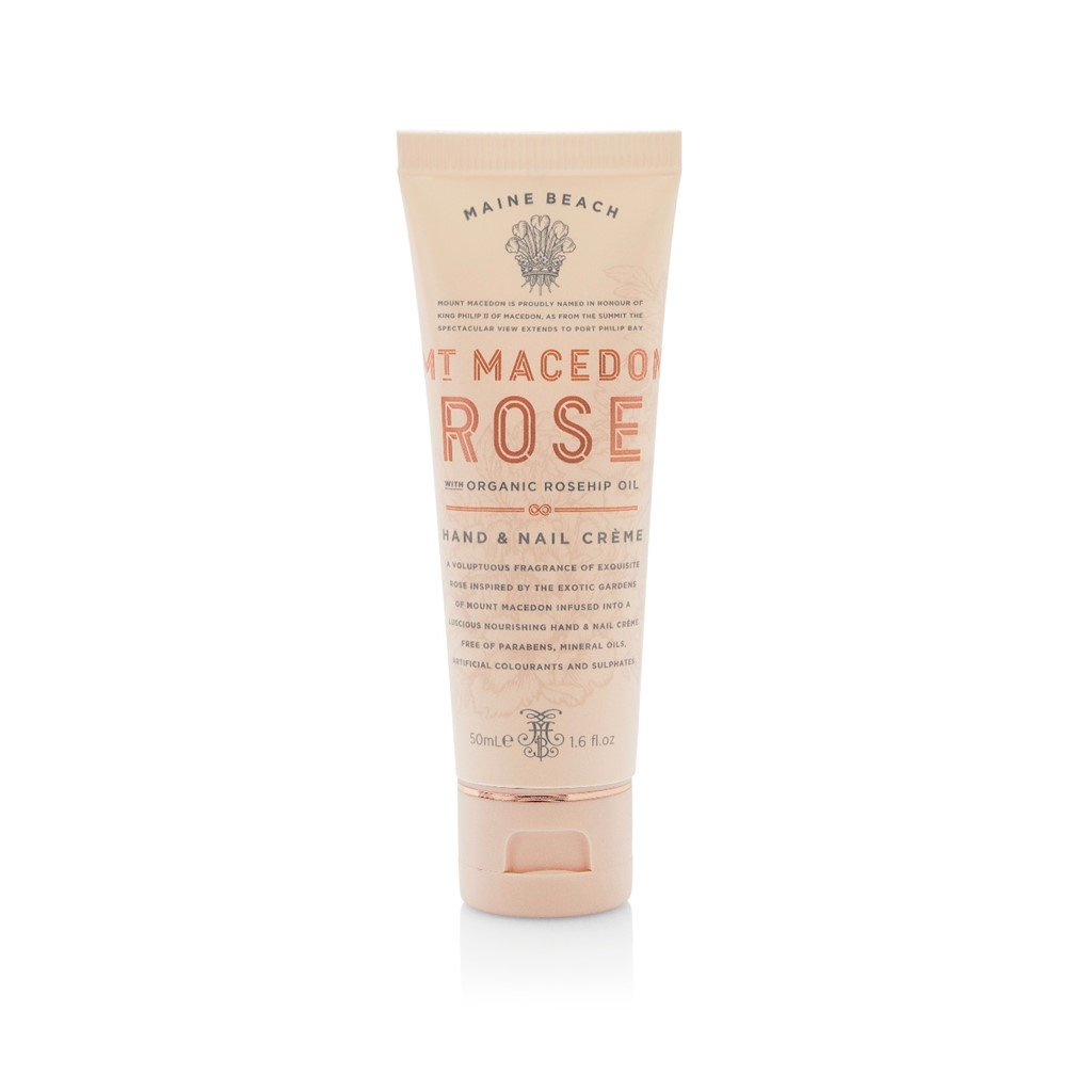 MT MACEDON ROSE HAND AND NAIL CREME