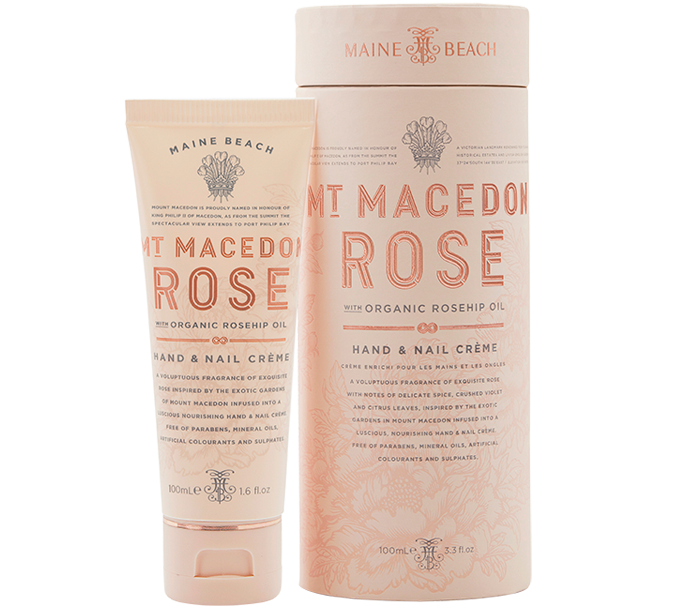 MT MACEDON ROSE HAND & NAIL CREME