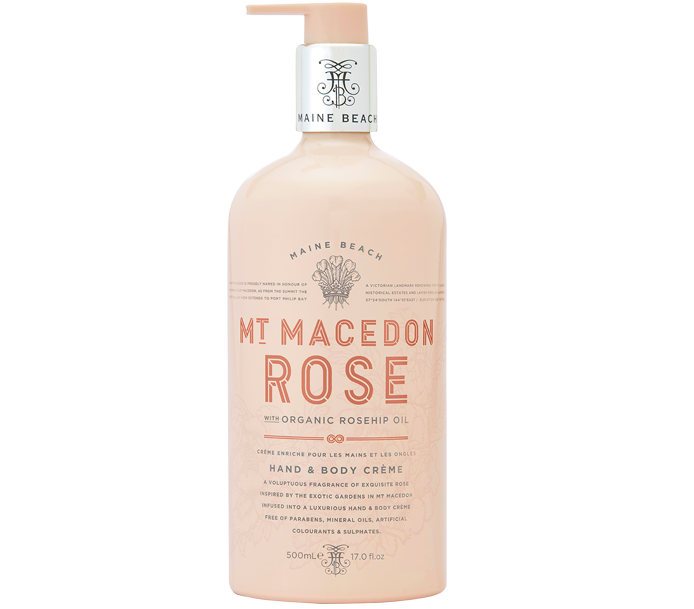 MT MACEDON ROSE HAND & BODY CREME