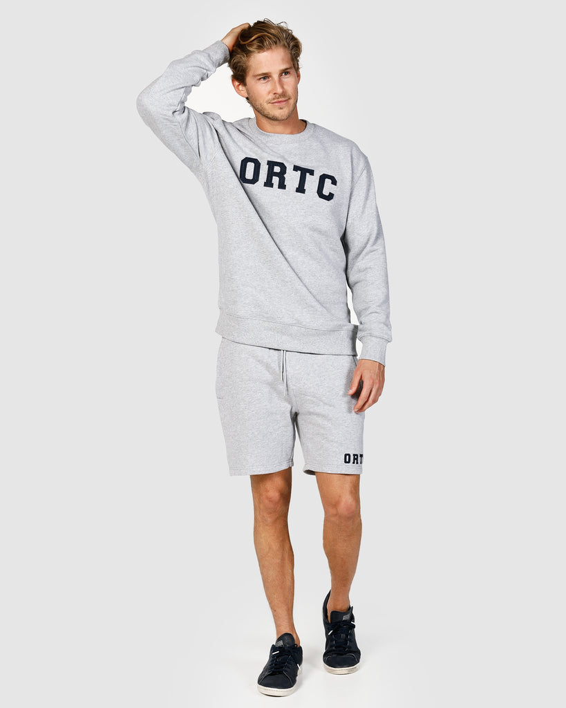 ORTC LOUNGE SHORTS MARLE GREY