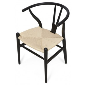 Wishbone Beechwood Chair - Black