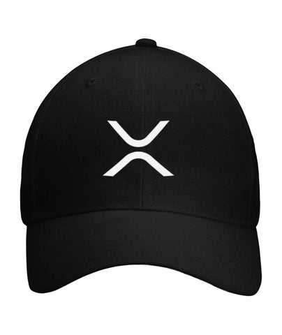 Ripple XRP X Symbol Velcro Strap Cap - King Kong Crypto™