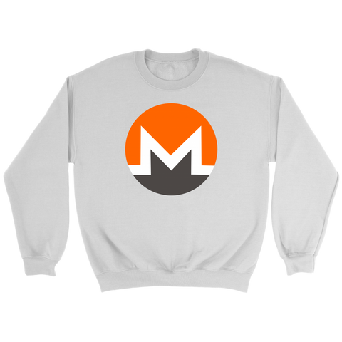 Monero Token Logo Sweatshirt - King Kong Crypto™