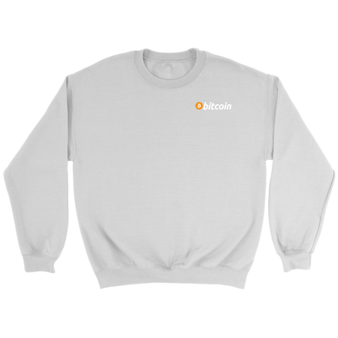 Bitcoin Subtle Logo Sweatshirt - King Kong Crypto™
