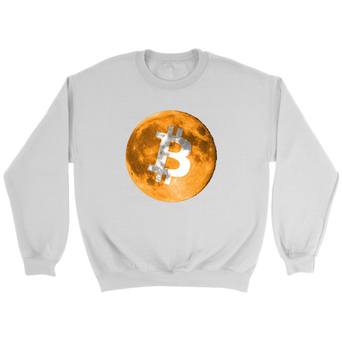 Bitcoin Full Moon Sweatshirt - King Kong Crypto™